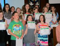 Submitted by Handi-Workers 4-H The Gladstone Handi-Workers 4-H Club celebrated their achievement on May 14 in the Gladstone United Church annex.