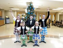 Beaumont School of Highland Dance dancers following a competition at Edmonton Highland Dance. (submitted)