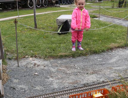 <p>Kaleigh McCormick, 2, watches Thomas the Tank Engine ride the rails at the season opening of the Northern Ontario Railroad Museum and Heritage Centre in Capreol, Ont. on Saturday May 23, 2015. The museum hours are 10 a.m. to 4 p.m. Monday to Sunday until Sept. 4. Thomas the Tank Engine is showcased only on special occasions at the museum. John Lappa/Sudbury Star/Postmedia Network