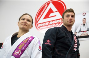 Former Western and national team wrestler Katie Patroch and fellow jiu-jitsu martial artist Shane Fishman are headed to the world championships in California this week. (CRAIG GLOVER, The London Free Press)