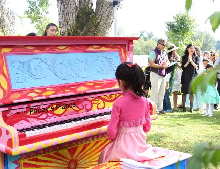 This piano last year was placed in Century Gardens at the Shadbolt Centre in Burnaby by the Piano Teachers Federation. (Photo submitted)