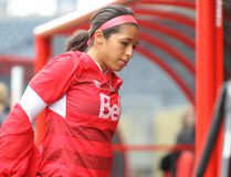 Canada midfielder Desiree Scott went to England to further her pro career after a season in the NWSL with FC Kansas City. (KEVIN KING/POSTMEDIA NETWORK)