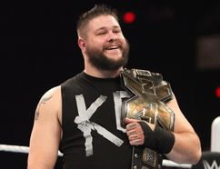 World Wrestling Entertainment's NXT champion and Quebec native Kevin Owens. (Courtesy of WWE)