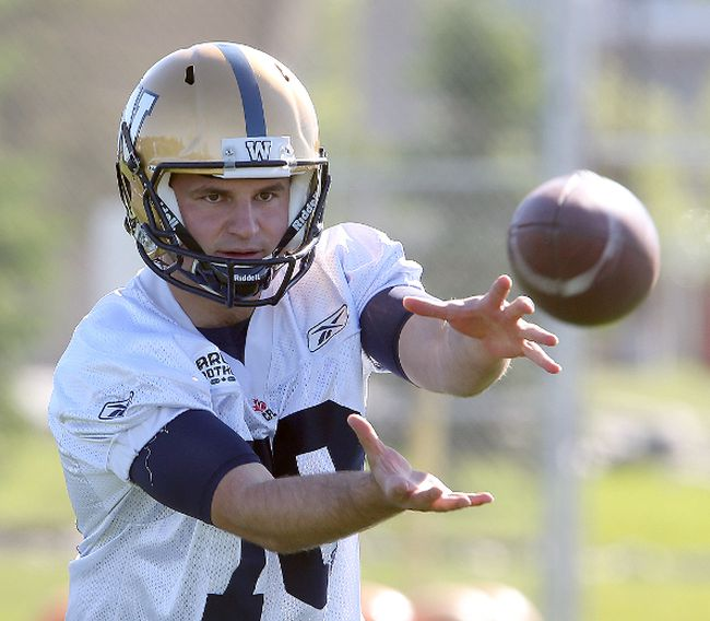 Bombers placekicker/punter Lirim Hajrullahu will have to make convert attempts from the 32-yard line instead of the 12 this season.