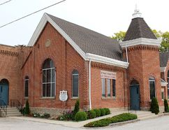 St. Paul's United Church on Communications Road, south of Chatham, Ont., attracts parishioners of all ages, in a time when the United Church, overall, is seeing a decline in members as it prepares to celebrate its 90th anniversary. Photo taken on Friday, June 5, 2015. (Ellwood Shreve/Chatham Daily News/Postmedia Network)