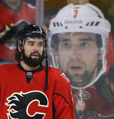 David Schlemko of the Calgary Flames.
