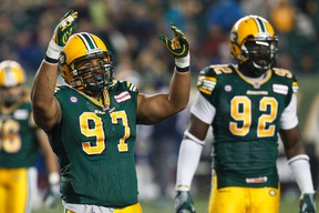 Eddie Steele was part of the D corps that helped turn the Eskimos fortunes around last season. (Ian Kucerak, Edmonton Sun)