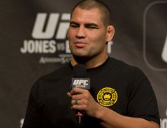 Cain Velasquez is ready to take on Fabricio Werdum at UFC 188 in Mexico City on Saturday. (Dave Thomas/Postmedia Network/Files)