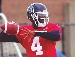 Adrian McPherson left the Arena Football League to join the Argos camp this week. (James Paddle-Grant/Argonauts.ca)