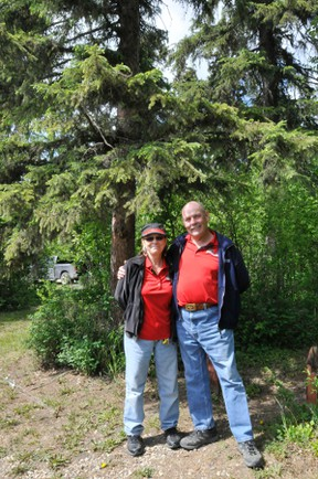 Scott (right) and Sherry (left) Robertson are the new Willey West Campground operators. They took over the place in 2014.