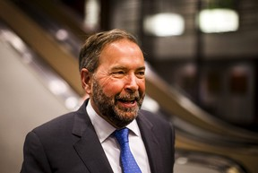 New Democratic Party (NDP) leader Thomas Mulcair arrives to make a speech to the economic community during a business luncheon in Toronto, June 16, 2015. Mulcair and his left-leaning party, the NDP, are preparing for the upcoming federal elections in Canada in October.    REUTERS/Mark Blinch