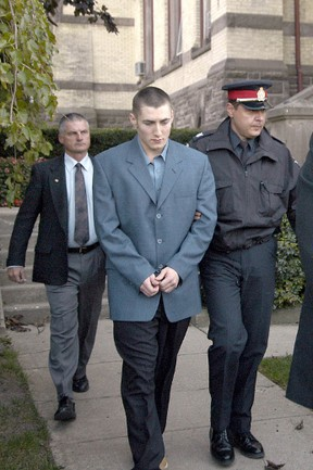 Justin Primmer outside of courthouse. (File photo)