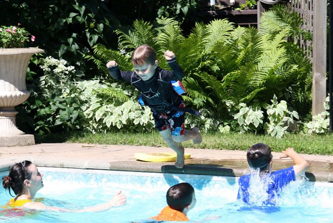 <p>Children show off their pool safety tips to kick off summer pool season. Dr. Paul Roumeliotis' Health Matters column focuses on summer safety for family.</p><p>Michael Aubry/Postmedia Network