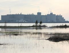 Bruce Power as seen from Baie du Dore, along the Municipality of Kincardine shoreline. (TROY PATTERSON/KINCARDINE NEWS)