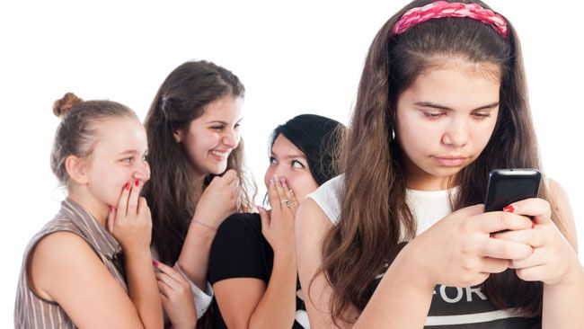 Cyberbullying linked to risk of depression in kids.