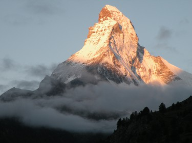 Zermatt celebrates the 150th anniversary of the first ascent of the Matterhorn with special events and festivals all year-long.   JANIE ROBINSON PHOTO