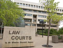 The Edmonton Law Courts, housing provincial courts, family courts, the Court of Appeal and Court of Queen's Bench, is seen in downtown Edmonton, Alta., Monday, June 9, 2014.