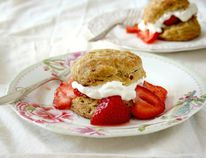 The season for picking fresh strawberries locally grown in the Portage la Prairie area arrives on or about Canada Day. Are you ready to make Strawberry Shortcake Biscuits? Ted provides the recipe. (Photo courtesy Crosby Molasses)