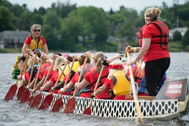 Ottawa --The Tim Horton's Dragon Boat Race saw more than 185 teams participate in its 22nd year. The 4-day event is filled with concerts bringing big names like Tokyo Police Club to its stage, as well as a list of other activities like games, a blow up park, beachside eating and much more. DANI-ELLE DUBE/Ottawa Sun/Postmedia Network