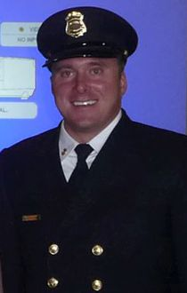 Calgary firefighter Ryan Bjolverud