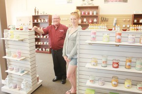 Owner Chris Basden and manager Jessica Prouse. (Dave Flaherty/Goderich Signal Star)