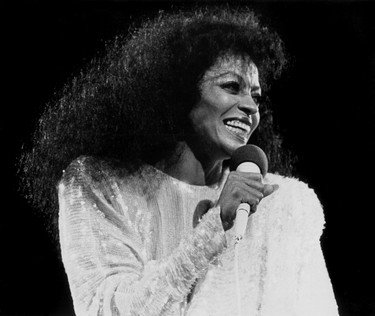 Diana Ross performs at Northlands Coliseum on Oct. 13, 1983. While building first opened on Nov. 10, 1974, the big civic celebration to officially opening party was held on July 1, 1975. Edmonton Sun/Postmedia