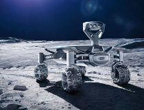 Audi goes from highways to the moon