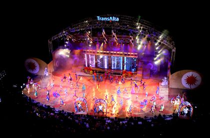 Stampede Grandstand Show With Young Canadians To Pay