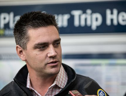 B.C. Transportation Minister Todd Stone. FILE PHOTO