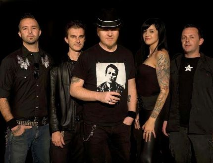 Kingston's The Mahones play Friday at The Mansion. (Supplied photo)