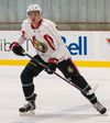 Nick Paul at the 2014 Ottawa Senators Rookie Camp at Canadian Tire Centre on Thursday 