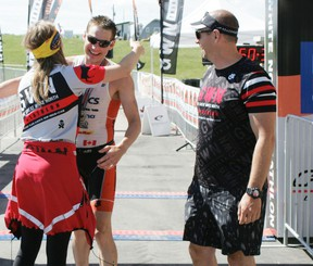 Jeff Symonds is the defending champion of the Great White North Triathlon in Stony Plain. Symonds, who holds the record for fastest time in the event, is chasing his fifth win in Stony Plain. File photo