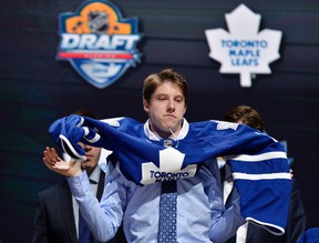 Maple Leafs' Mitch Marner is one of many recent draft picks that are small in stature. (USA TODAY)
