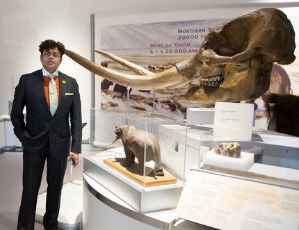 George Jacob, president and CEO of the Philip J. Currie Dinosaur Museum has been named as one of Alberta's 50 most influential people by Alberta Venture magazine. Photo supplied