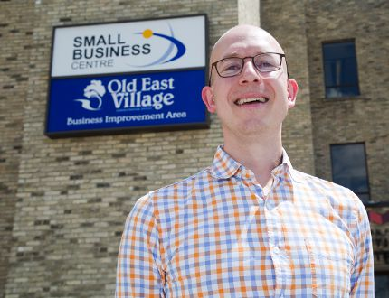 Justin Carter's agency, RISE Asset Development, is teaming up with the Small Business Centre in London to help individuals suffering with mental illness and addiction to become entrepreneurs by providing business loans. (DEREK RUTTAN, The London Free Press)