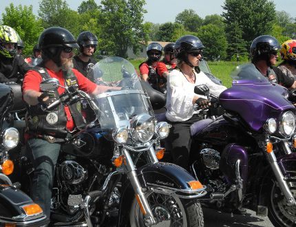 <p>Bikers get ready to leave the Lancaster Legion during the 2013 Highway 43 Memorial Ride. The Canadian Army Veterans Sicily motorcycle unit ride's throughout SD&G annually to raise funds and awareness of homeless veterans</p><p>File photo/ CORNWALL STANDARD-FREEHOLDER