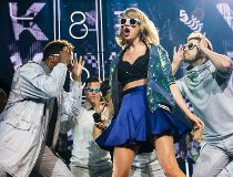 Taylor Swift's top of the pops