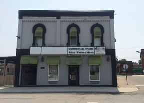 Submitted photo: JMHI Insurance Group has moved into the former Degusto's restaurant on Wallace Street.