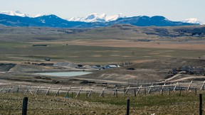 A view of the Crowsnest/Pincher Creek landfill. File photo.