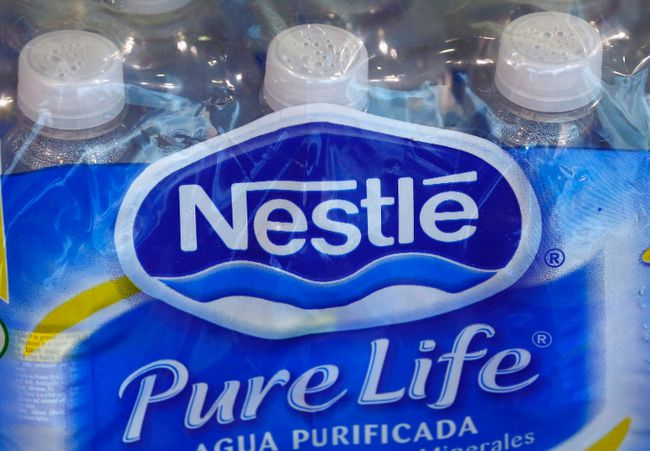 Nestle is under fire over the use of B.C. water. 