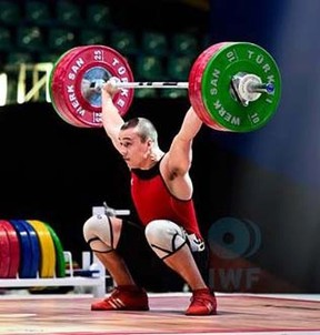 Sarnia's Boady Santavy finished sixth in the 85-kg weightlifting class at the Toronto 2015 Pan Am Games. He topped out at 146 kg in the snatch and 176 kg in the clean and jerk for a combined total of 322 kg, all either tying or establishing new personal bests. (File Photo/Sarnia Observer/Postmedia Network)