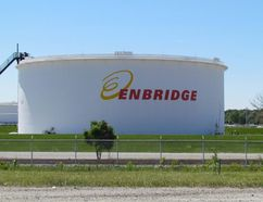The Enbridge Sarnia Terminal and tank farm on Plank Road is shown here on Wednesday July 15, 2015 in Sarnia, Ont. (Paul Morden/Sarnia Observer/Postmedia Network)