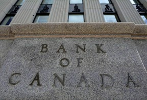 The Bank of Canada building is pictured in Ottawa on September 6, 2011. THE CANADIAN PRESS/Sean Kilpatrick