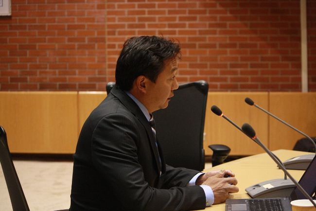Fort McMurray-Wood Buffalo MLA Tany Yao speaks to council on plans for the former Willow Square site in this June 2015 Today file photo.