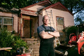 """Mike Holmes in """"Home Free."""""""
