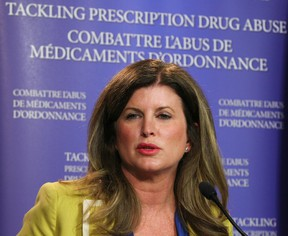 Federal Health Minister Rona Ambrose, seen here at a press conference in Calgary on Thursday May 28, 2015, created the Advisory Panel on Health Care Innovation last June to help find ways to reduce health spending. Jim Wells/Calgary Sun/Postmedia Network