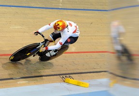 Canada's Monique Sullivan competes in the women's sprint qualification during the Pan Am Games in Milton yesterday. (USA TODAY)