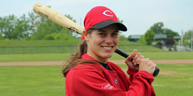<p>Cornwall's Jenna Flannigan is playing for her country at the Pan Am Games in Toronto, on Sunday May 24, 2015 in Cornwall, Ont. Todd Hambleton/Cornwall Standard-Freeholder/Postmedia Network