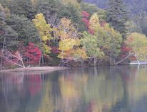 Lake Onneto is also known as the Lake of Five Colours.