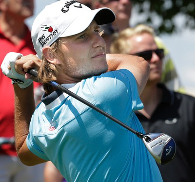 Emiliano Grillo during second round action at the RBC Canadian Open at Glen Abbey Golf Course on Friday July 24, 2015. Craig Robertson/Toronto Sun/Postmedia Network